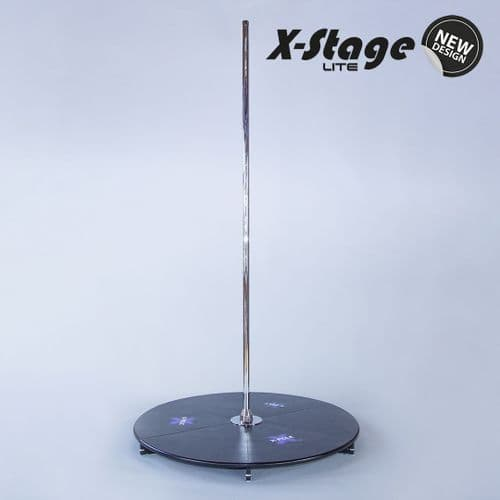 X-Pole X-Stage Lite (NST04LT)  Stainless Steel 45mm